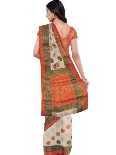 Kathana Fancy Raw Silk Zari Weaving  Saree - MFB2406946