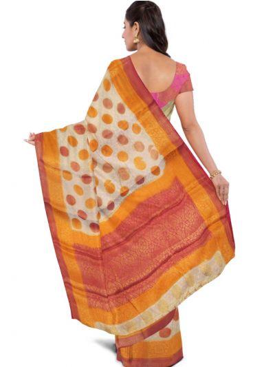 Kathana Fancy Raw Silk Zari Weaving Saree - MFB2406996