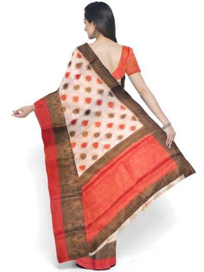Kathana Fancy Raw Silk Zari Weaving Saree - MFB2406987