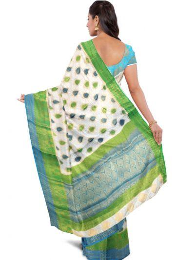 Kathana Fancy Raw Silk Zari Weaving Saree  - MFB2406993