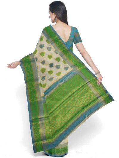 Kathana Fancy Raw Silk Zari Weaving Saree - MFB2406994