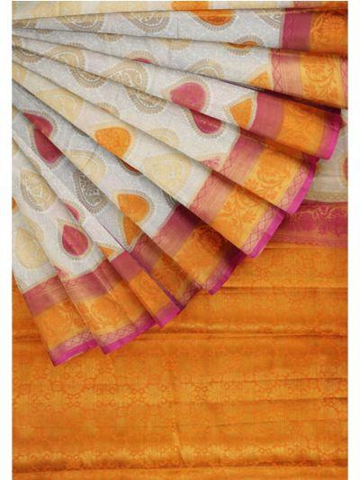 Kathana Fancy Raw Silk Zari Weaving Saree - MFB2406992