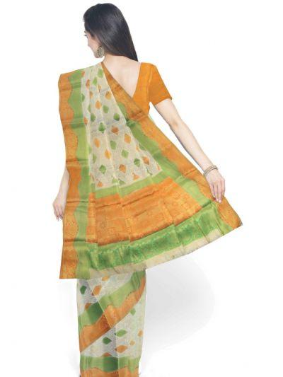 Kathana Fancy Raw Silk Zari Weaving Saree - MFB2406986