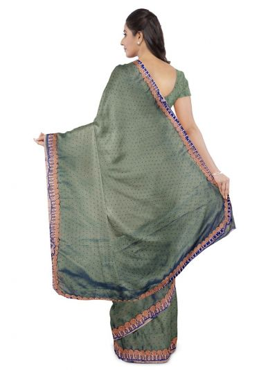 Kathana Exclusive Chiffon Saree With Ready Made Blouse - MFA0579121