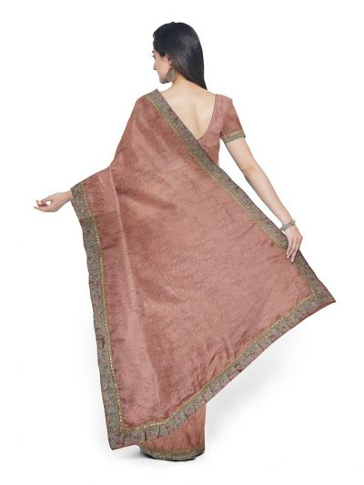 Kathana Exclusive Chiffon Saree With Ready Made Blouse - MFA0579127