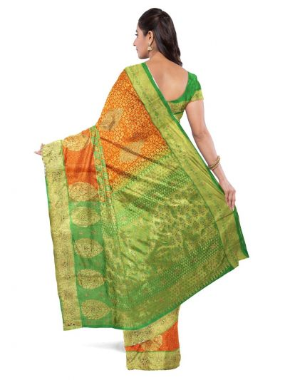 Vivaha Wedding Silk Saree With Stone Work Design - MFA9554275