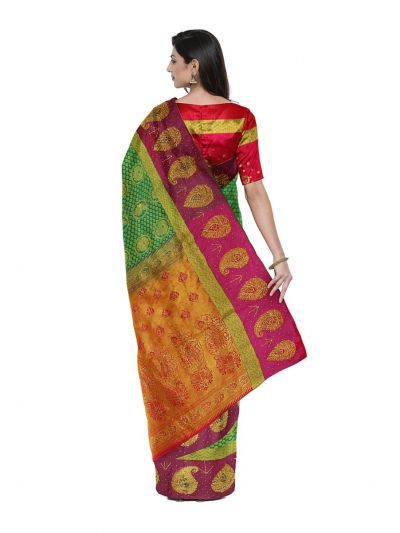 Vivaha Wedding Silk Saree With Stone Work Design - MFA9554278