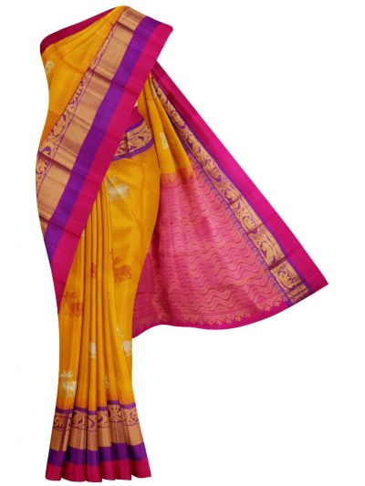 MFB1330627 - Traditional Silk Saree
