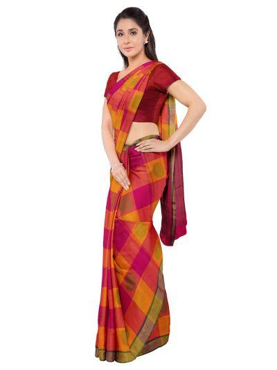 Deeksha Exclusive Pure Negamam Cotton Saree - MID6077655