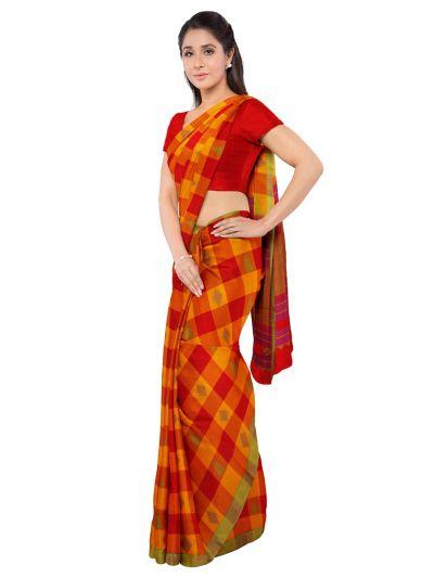 Deeksha Exclusive Pure Negamam Cotton Saree - MID6077658
