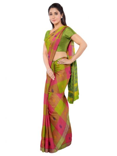 Deeksha Exclusive Pure Negamam Cotton Saree - MID6077690