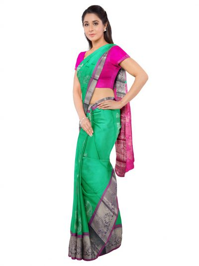 Bairavi Traditional Silk Saree - MKC9538132