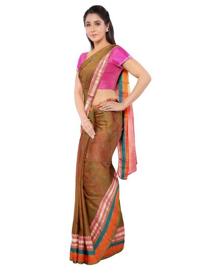 Bairavi Traditional Silk Saree - MKD0127630
