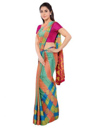 Bairavi Traditional Silk Saree - MKD0127650