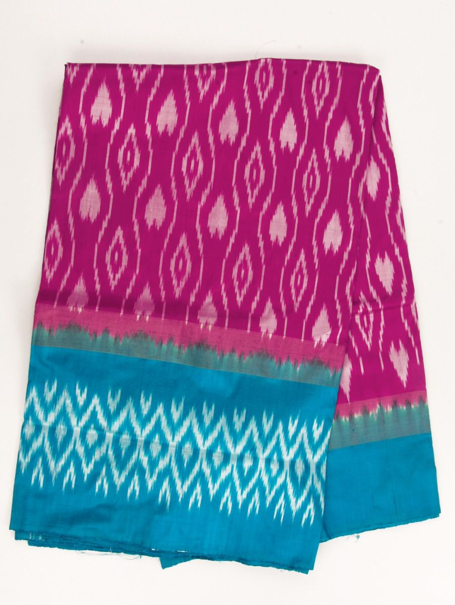 Pochampally Handloom Pure Ikat Silk Saree