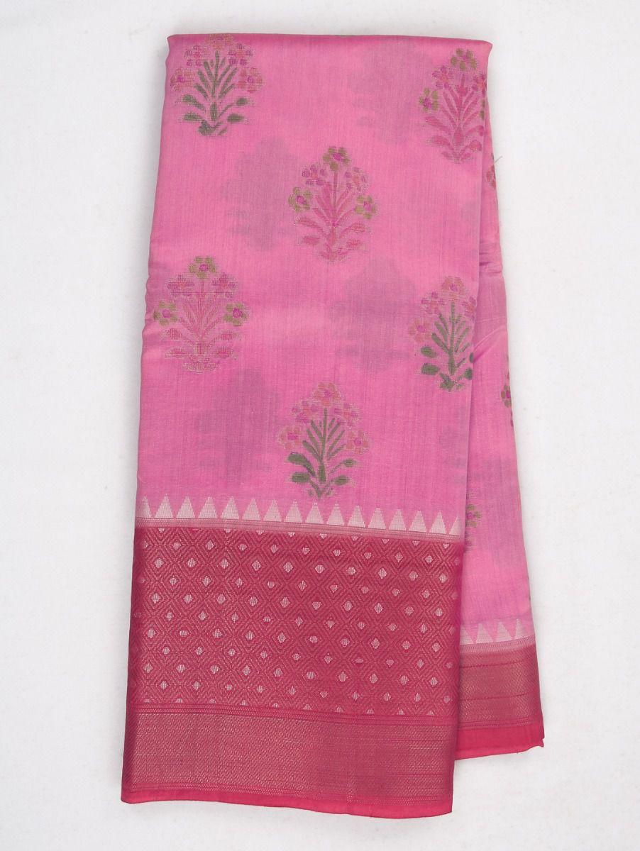 Kyathi Exclusive Dupion Tuusar Soft Silk Saree