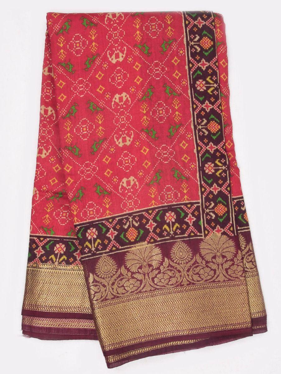 Kyathi Exclusive Munga Tussar Silk Saree