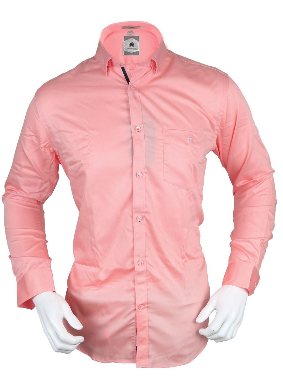 Zulus Festin Men's Formal Full Sleeve Satin Cotton Shirt - TUP-MED8324452