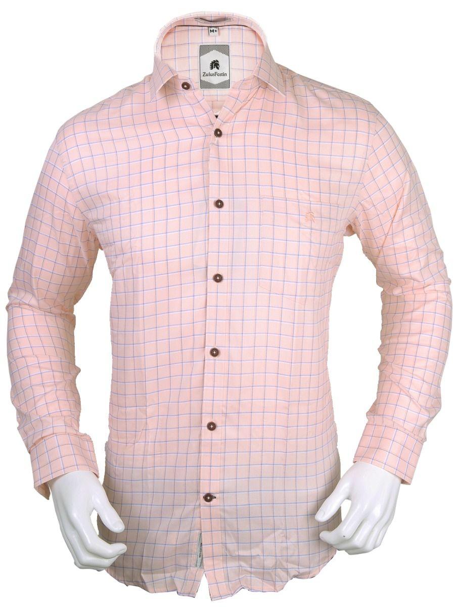 Zulus Festin Men's Formal Full Sleeve Cotton Shirt - TUP-MEC7675705