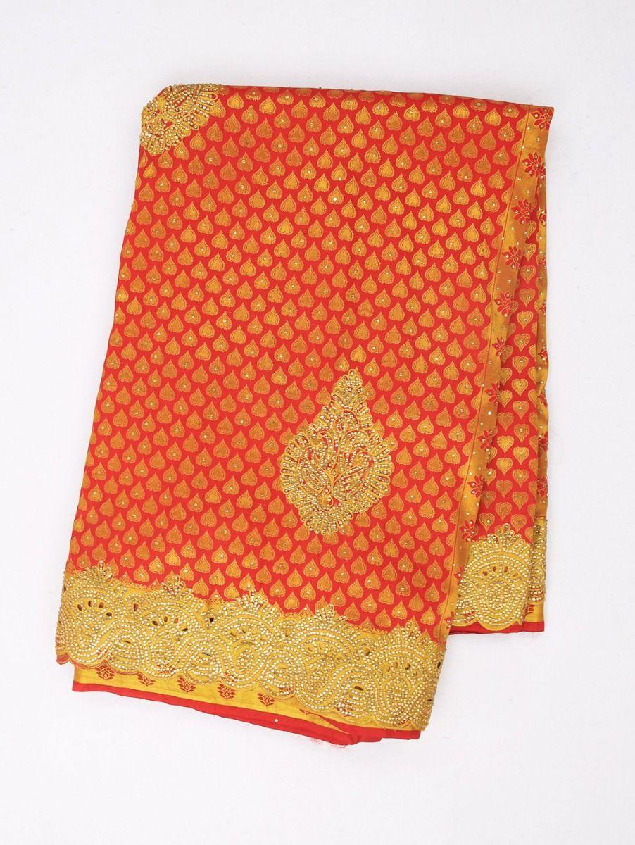 Vivaha Exclusive Wedding Stone Work Silk Saree