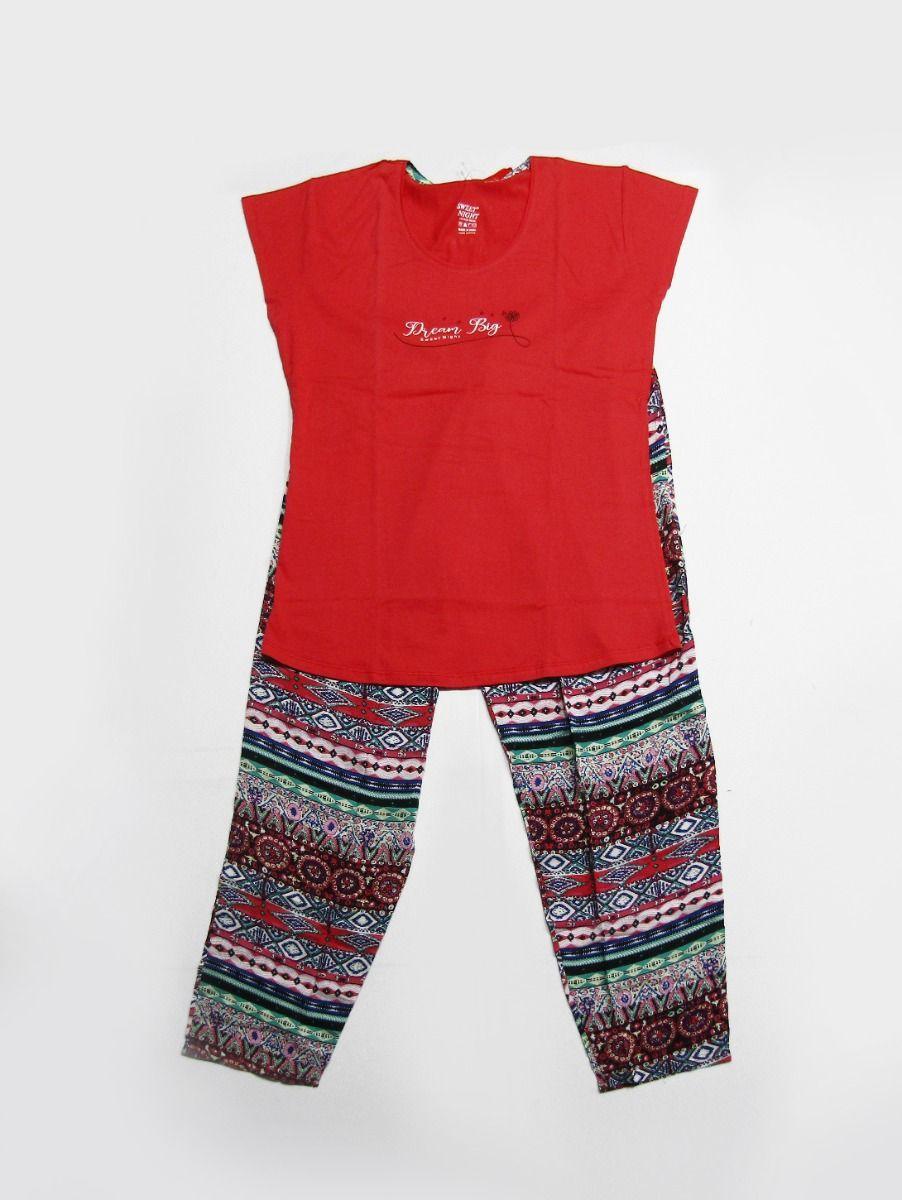Women Cotton Nightwear/Night Suit/Pyjama Set
