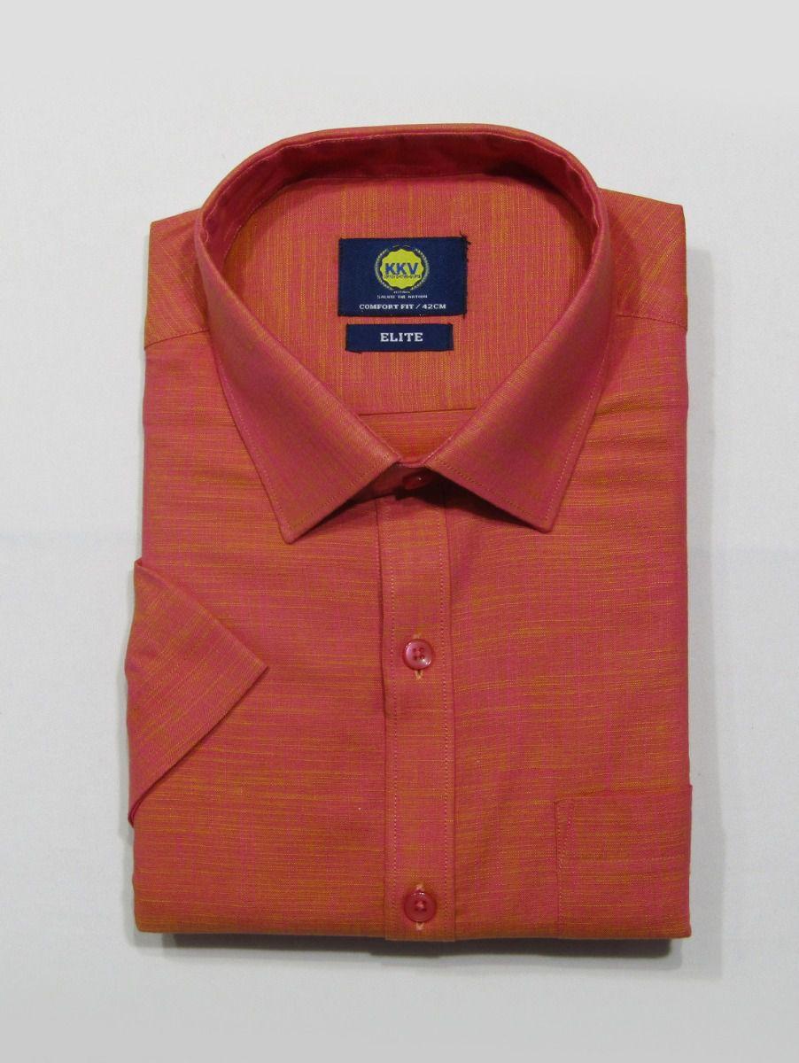 KKV Men Cotton Slub Shirt