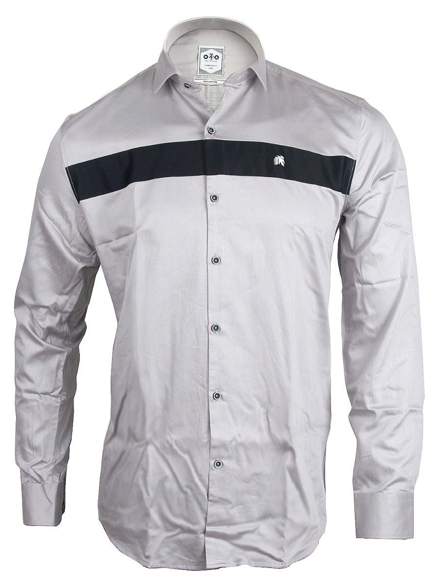ZF Men's Casual Cotton Shirt-TUPMFB5767713