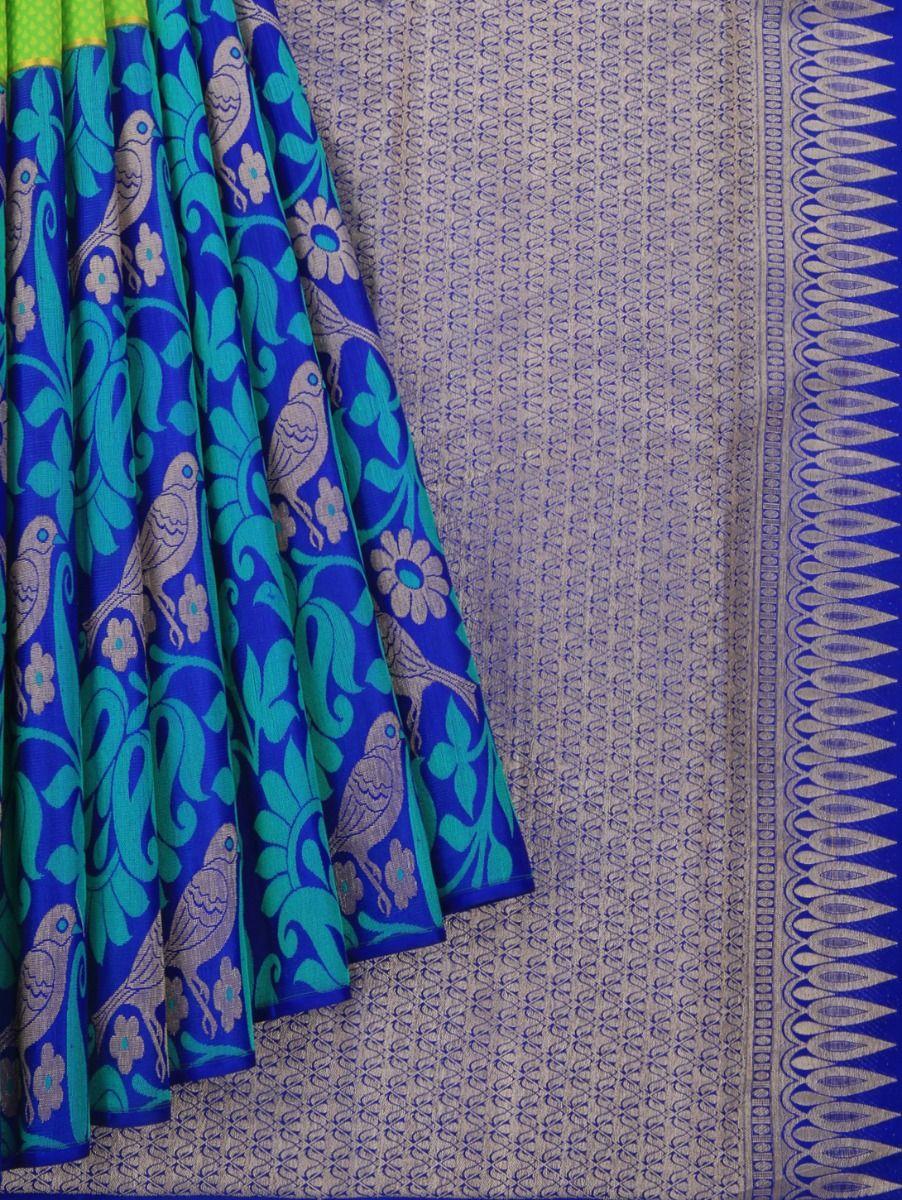 MJB7205767-Exclusive Vivaha Wedding Pure Silk Saree