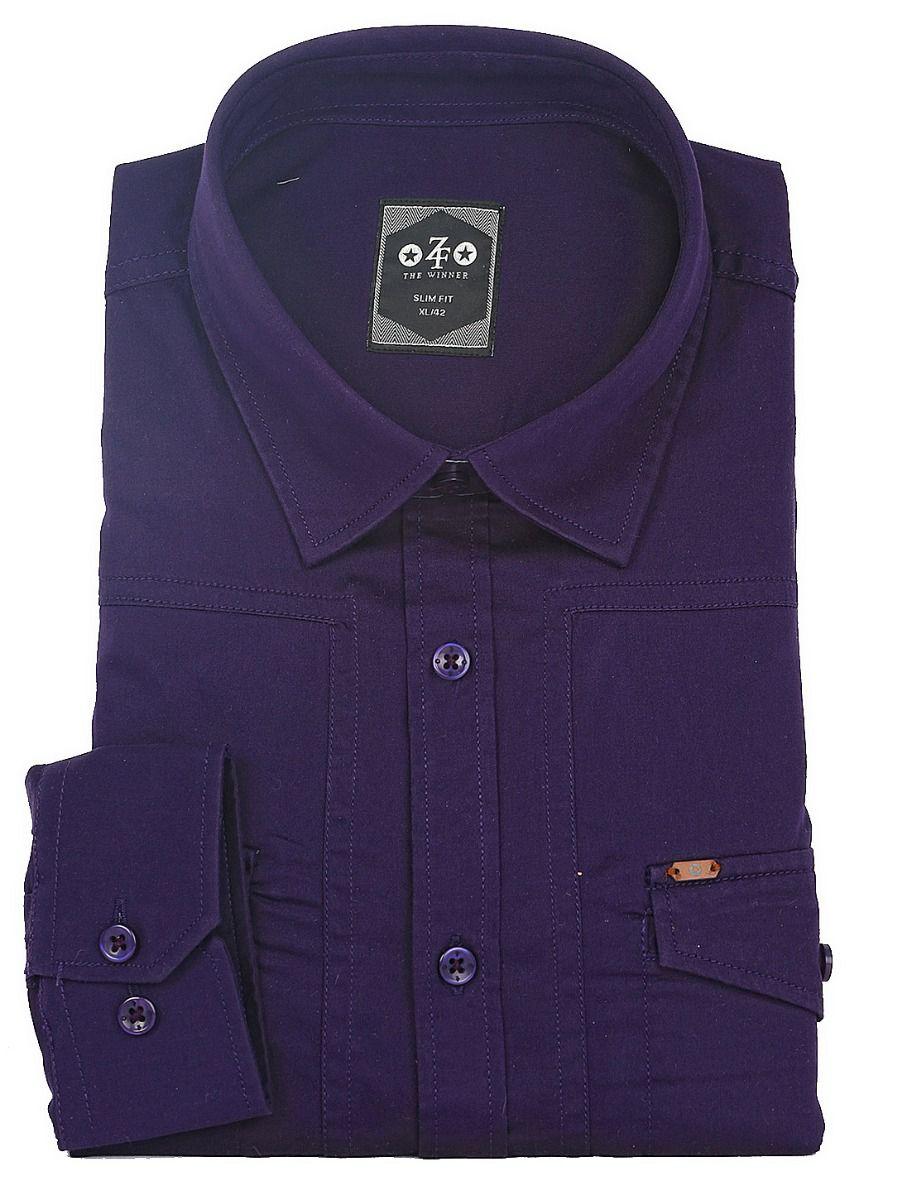 ZF Men's Casual Cotton Shirt - MGA8055791