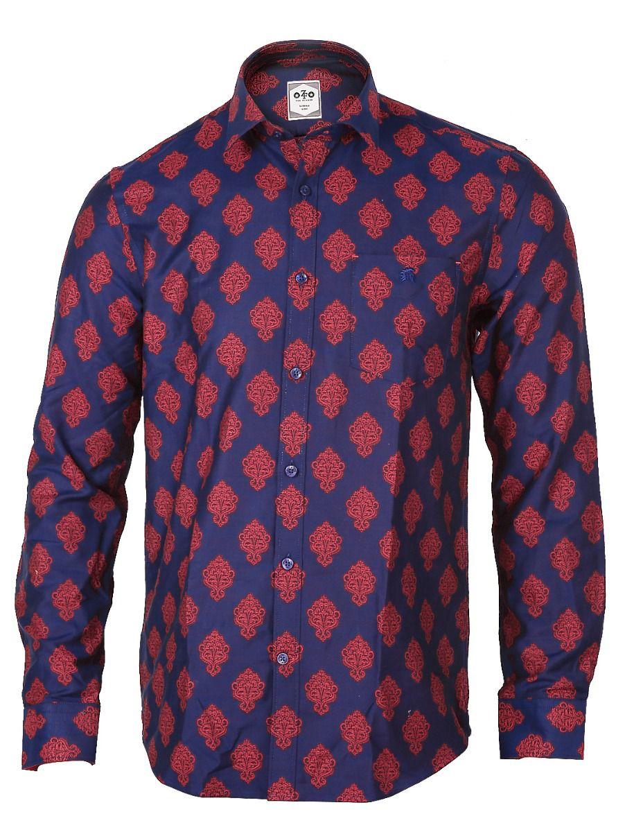 ZF  Men's Formal Cotton Shirt - TUPMGA8028503