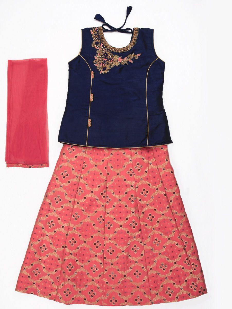 Girls Readymade Fancy Lehenga Choli