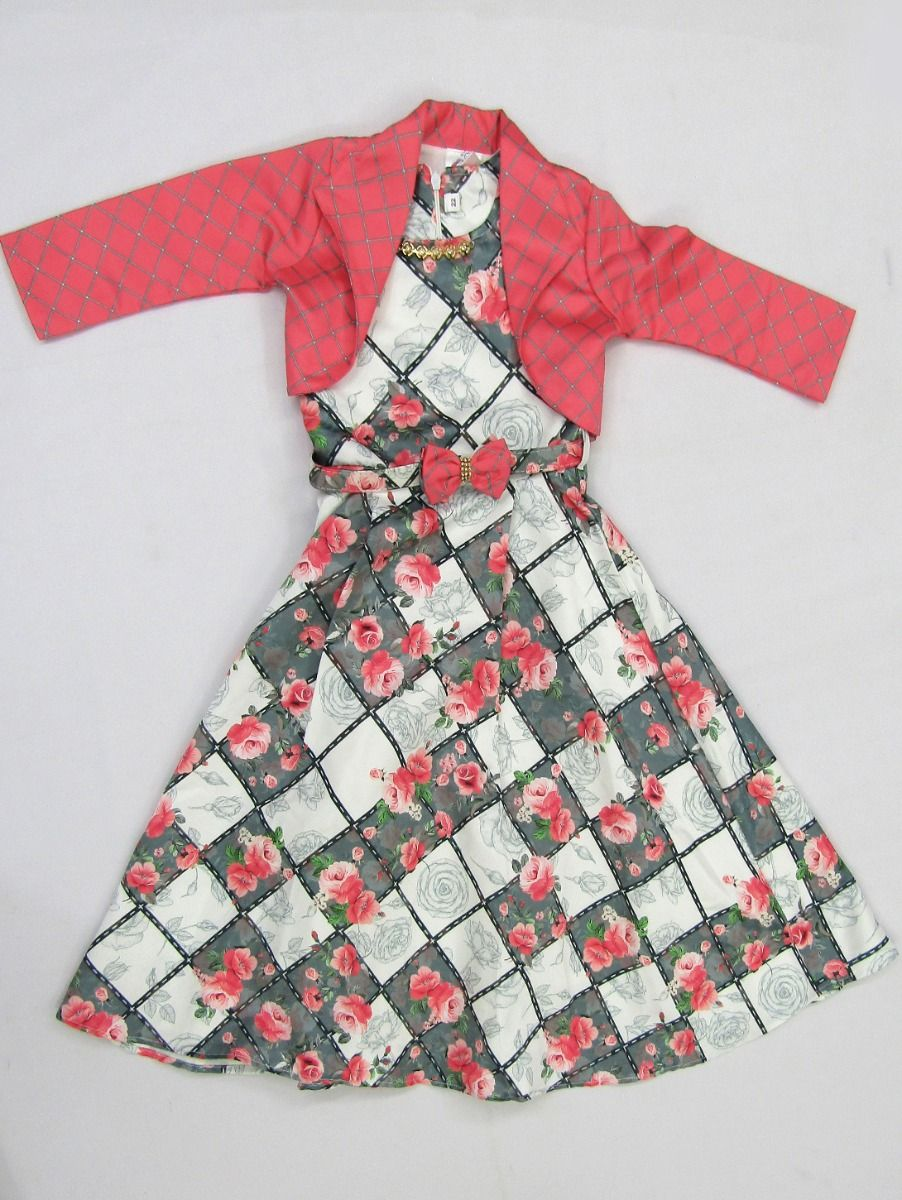 Girls Readymade Western Dress