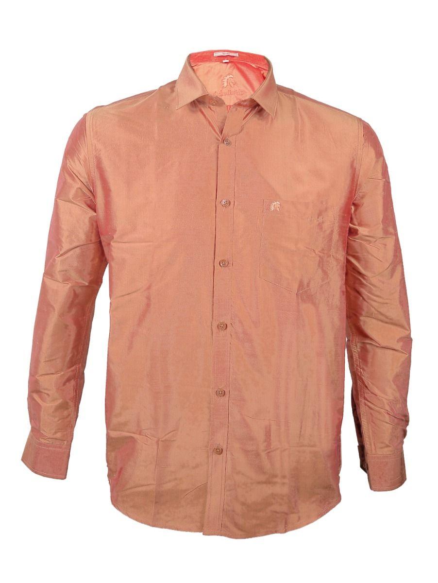 Zulus Festin Men's Pure Silk Shirt - ZSFS004