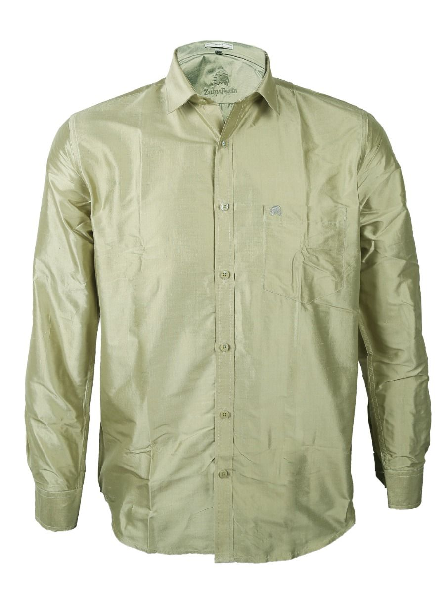 Zulus Festin Men's Pure Silk Shirt - ZSFS011