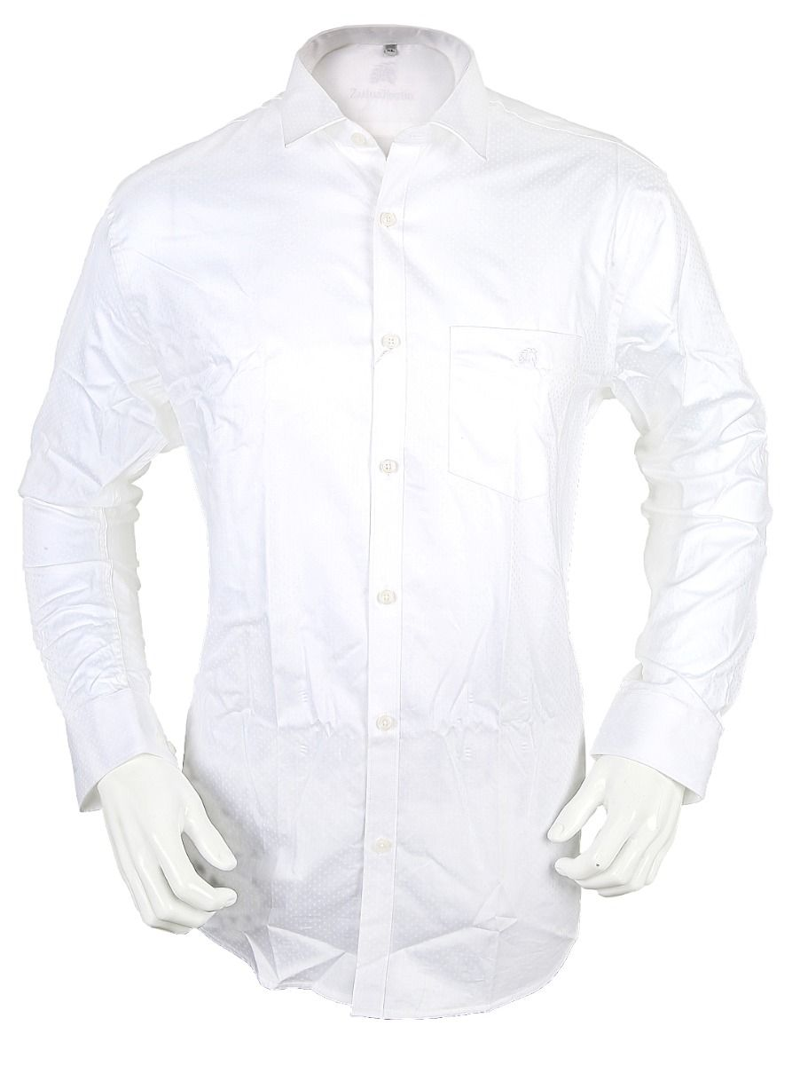 Zulus Festin Chairman Collection Men's Formal Full Sleeve Cotton Shirt-TUPMDE3556050