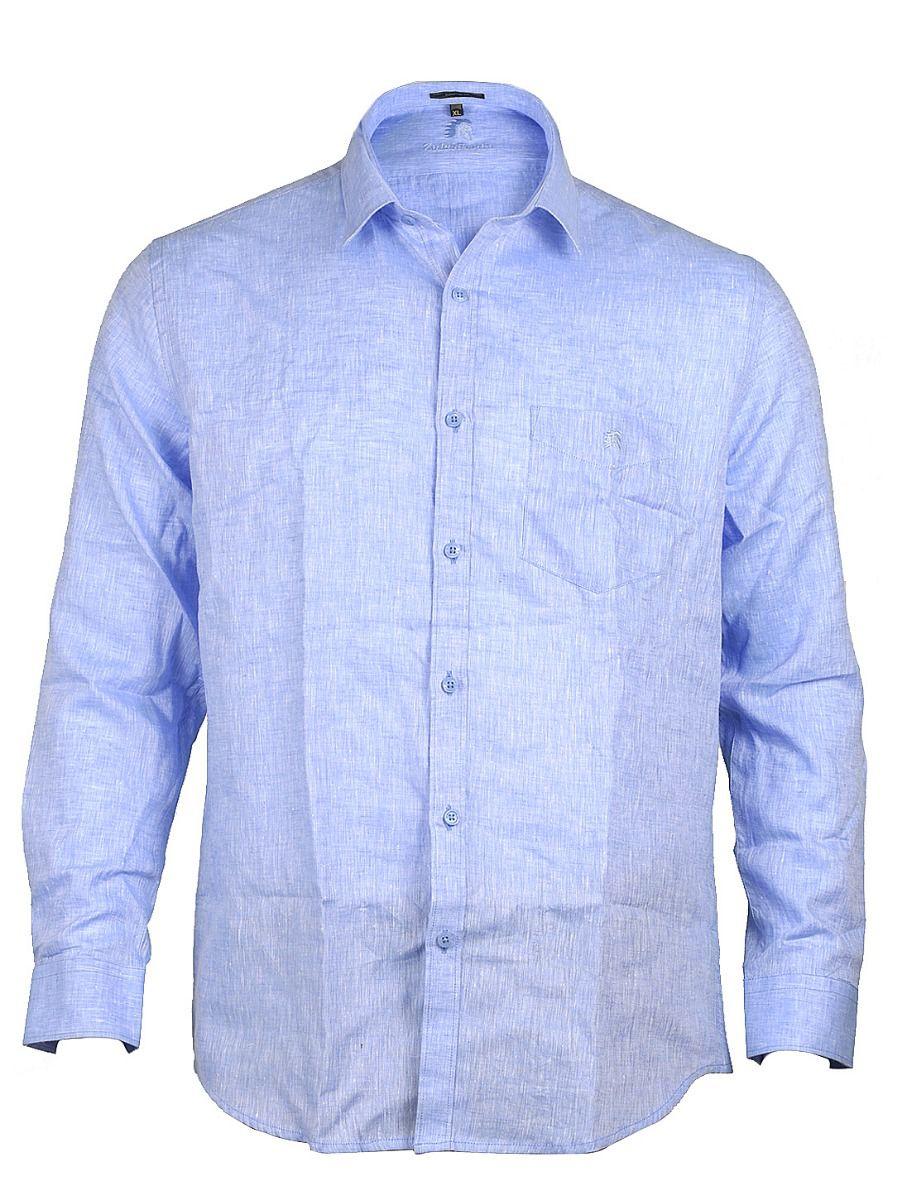 Zulus Festin Men's Linen Shirt - MGA7771286
