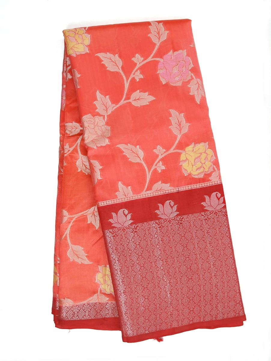 Kyathi Exclusive Dupion Tussar Silk Saree - RFSS801