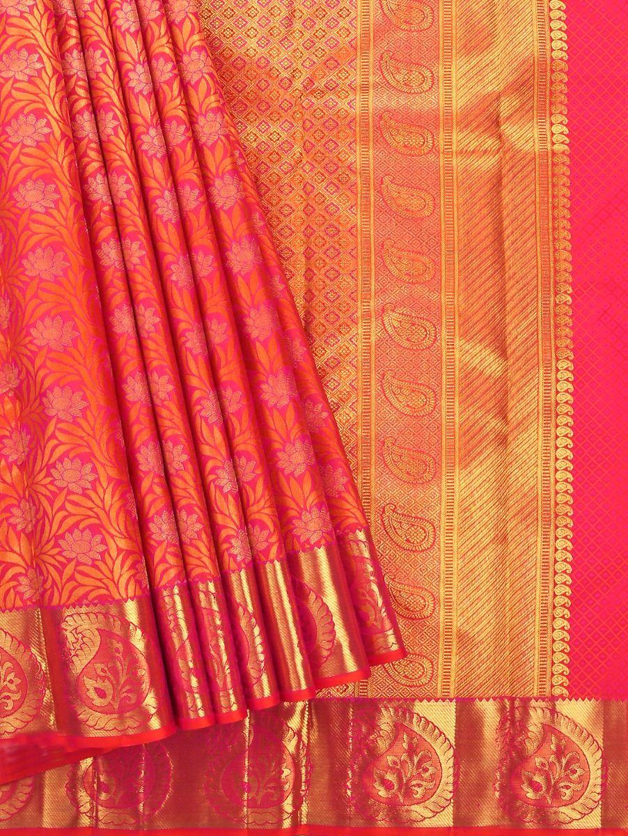 Vivaha Goddess Pure Kanchipuram Silk Saree