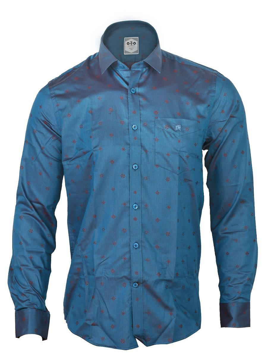 ZF  Men's Formal Cotton Shirt - TUPMGA8028497