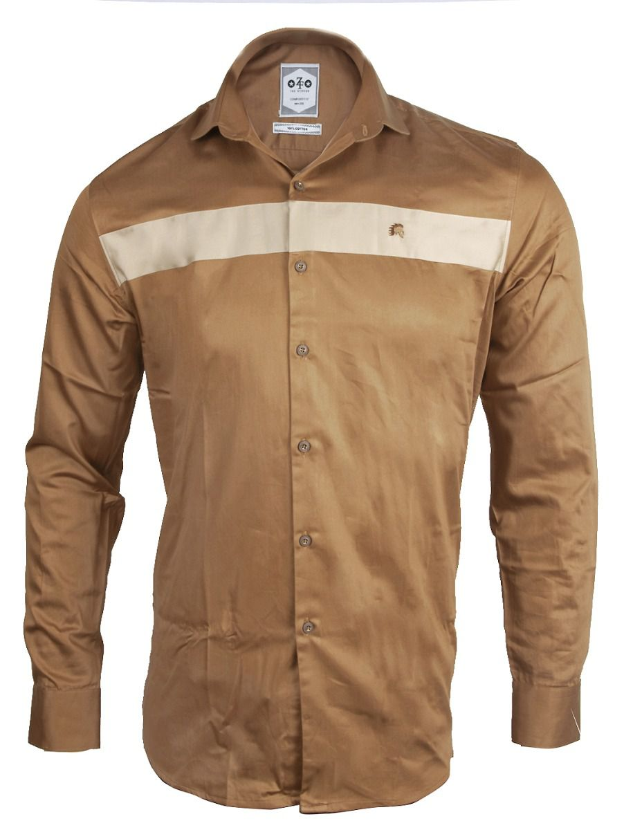 ZF Men's Casual Cotton Shirt - TUPMFB5767718