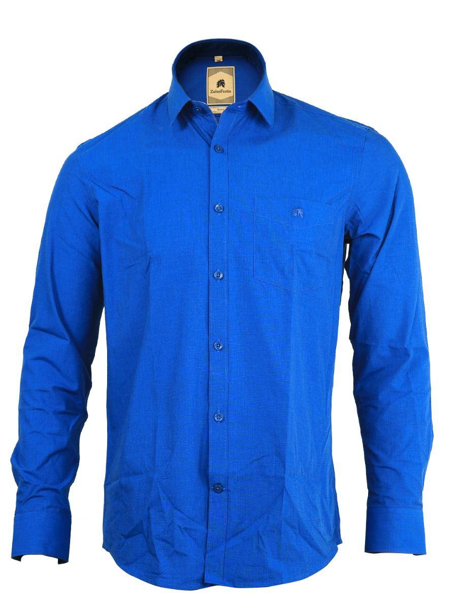 Zulus Festin Men's Formal Cotton Shirt - TUPMGA8036196