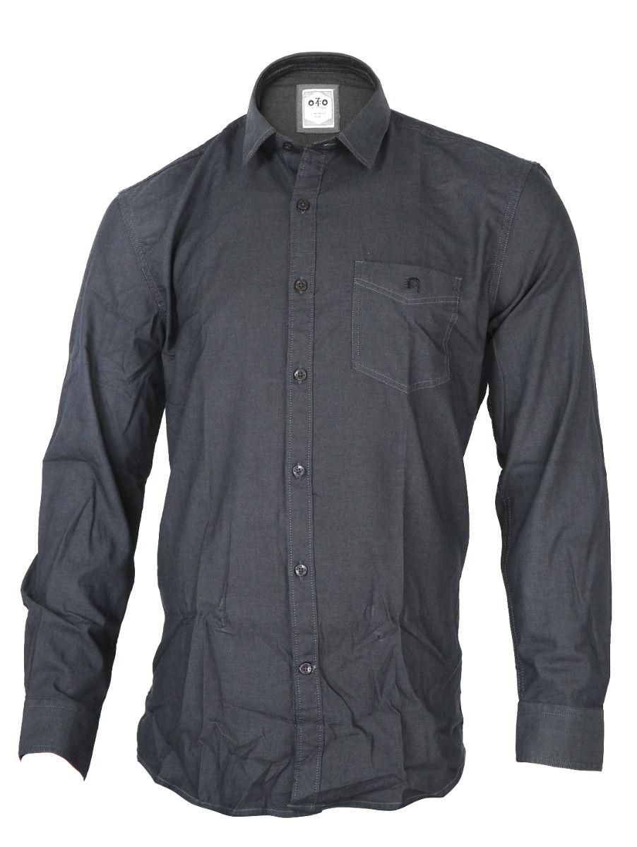 ZF  Men's Formal Cotton Shirt - TUPMGA8039178