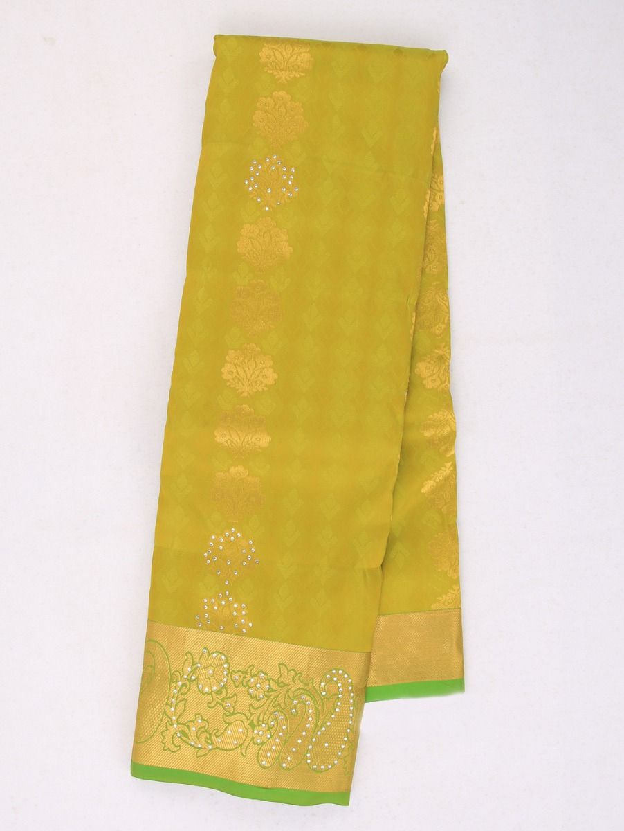 Bairavi Traditional Stone Work Gift Silk Saree