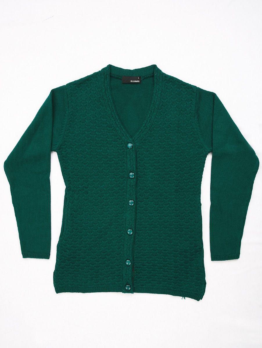 Women's Solid Woolen Sweater