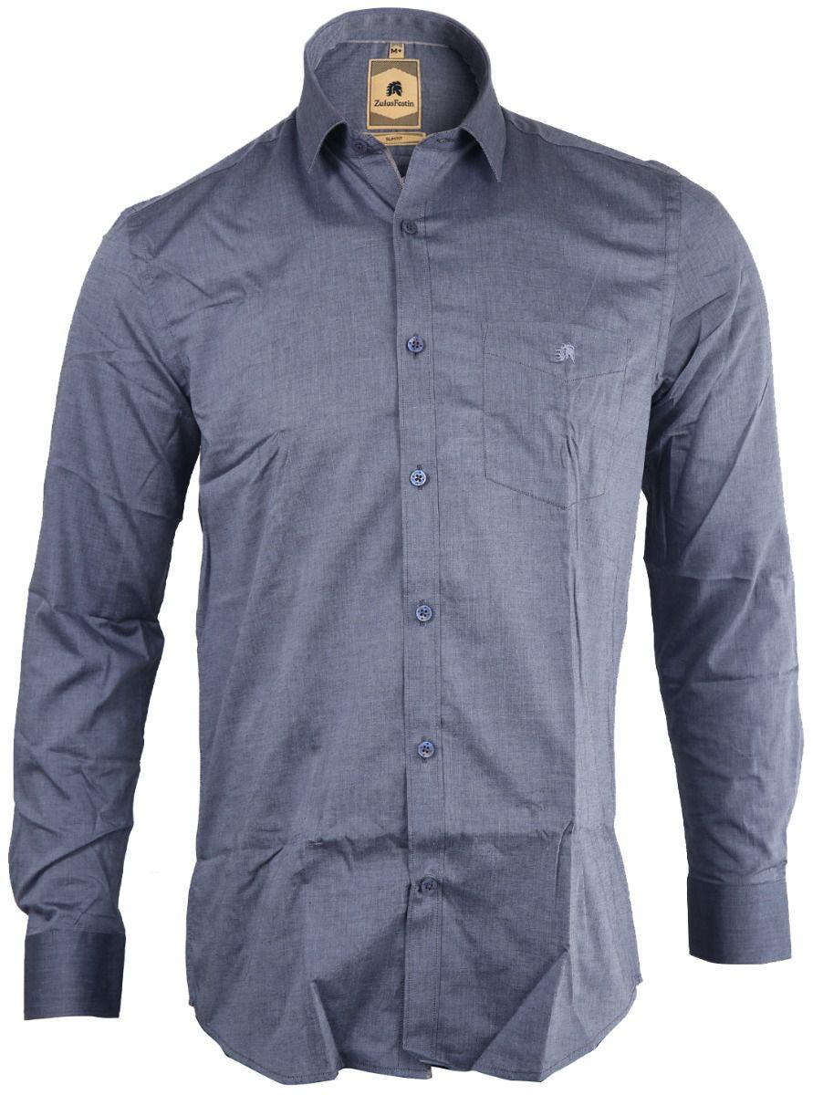 Zulus Festin Men's Formal Cotton Shirt - TUPMGA8036250