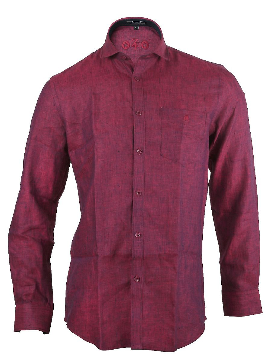 ZF  Men's Formal Cotton Shirt - TUPMGA8097176