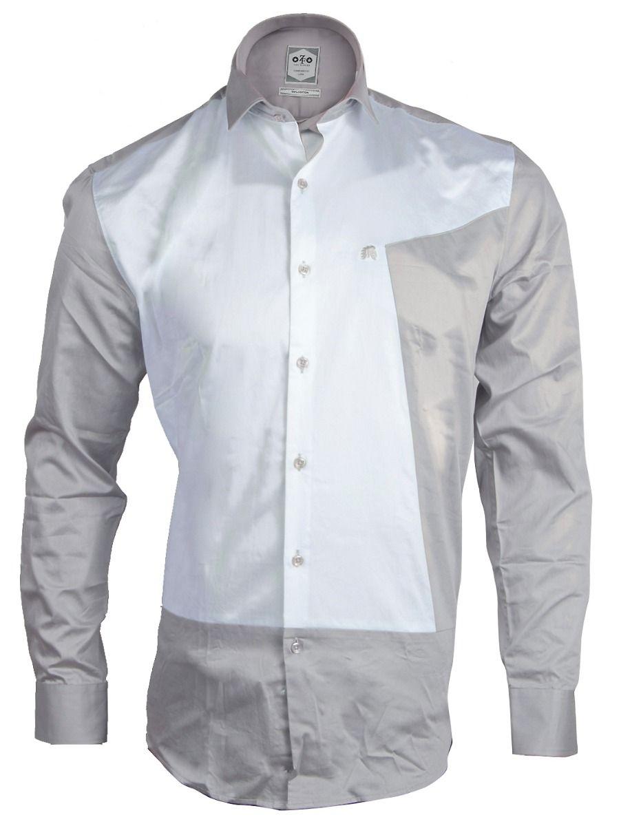ZF Men's Casual Cotton Shirt-MFB5767698