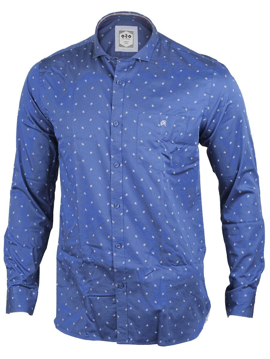 ZF Men's Casual Cotton Shirt  - MFB3468225