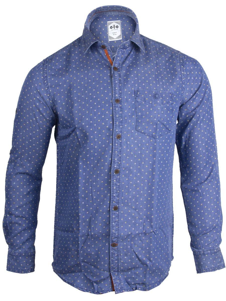 ZF Men's Casual Cotton Shirt  - TUPMGA7773701