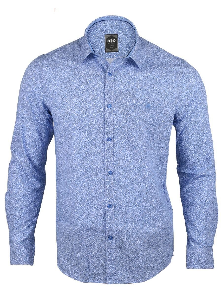 ZF Men's Casual Cotton Shirt - 01TUPMGA8253696